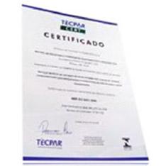 CERTIFICAÇÃO ISO 9001:2000